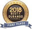 First Place 2018 Best in Durango