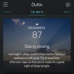 Oura Ring App Picture