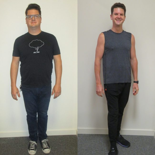Kippers Weight Loss Before and After